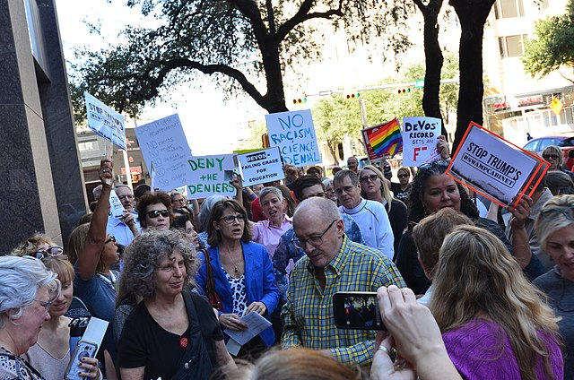 Texas Activists protest against President-Elect Donald Trump, From WikimediaPhotos