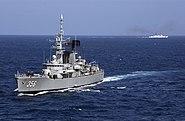 Indonesia Frigate KRI Karel Satsuit Tubin