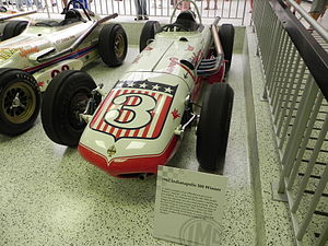 1962 Indianapolis 500 - Image: Indy 500winningcar 1962