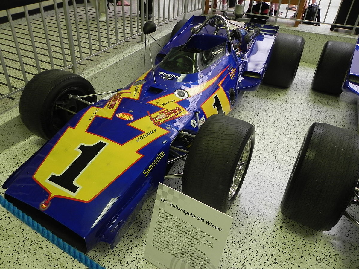 1971 Indianapolis 500 - Wikipedia