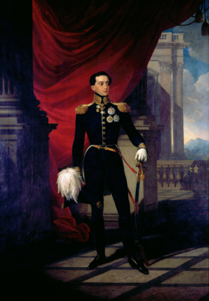 Miguel I of Portugal - Portrait by Johann Ender, 1827