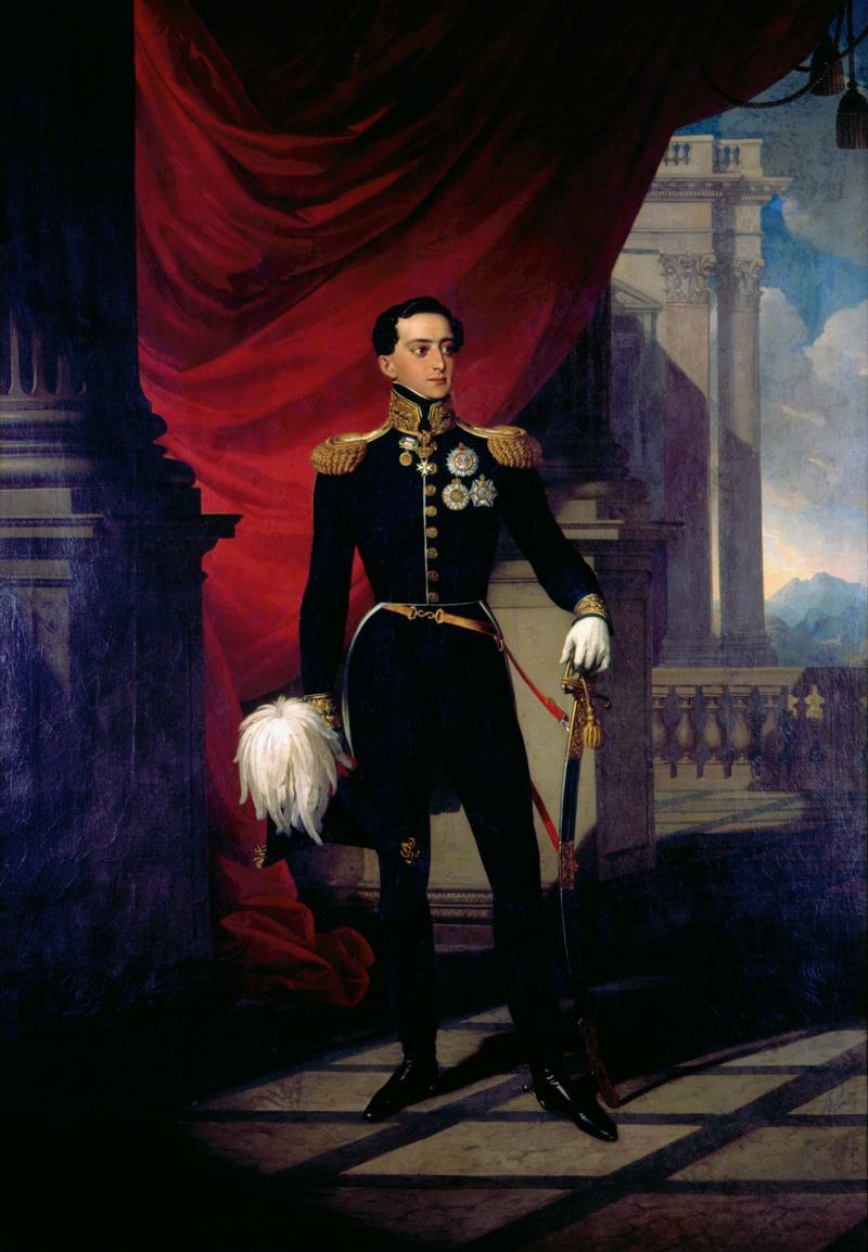Infante D. Miguel de Bragança (1827), by Johann Nepomuk Ender (1793-1854).png