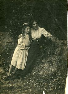 Charlotte Perkins Gilman and her daughter Katherine Beecher Stetson