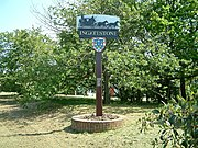 Ingatestone village sign