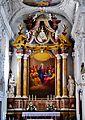 Innsbruck Spitalkirche Hl. Geist Innen Hochaltar 3.jpg