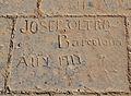 Inscripció d'un presoner, baluard de la Reina del castell de santa Bàrbara, Alacant.JPG