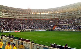 Peru national football team - Interior of the Estadio Nacional in 2011