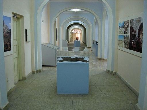 Inside Kabul Museum in 2008