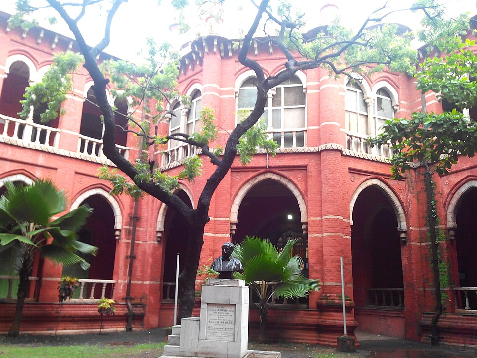 Inside madras law college old building, Sep 2013