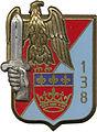 Insigne régimentaire du 138e Régiment d'Infanterie Divisionnaire.jpg