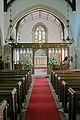 Interior of St Stephen's church, Sparsholt - geograph.org.uk - 418896.jpg