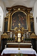 Interior of the Church of the Finding of the True Cross (Brno) 08.jpg