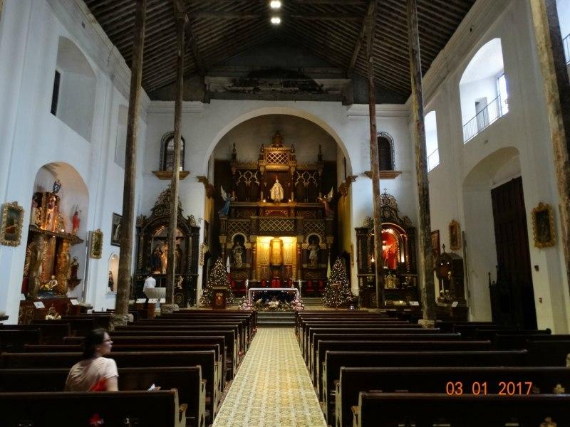 Interior view la merced