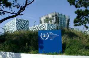 International court - The International Criminal Court in The Hague