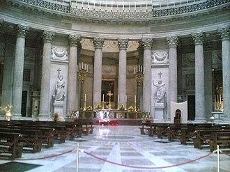 Piazza del Plebiscito - Image: Interno Paola 3