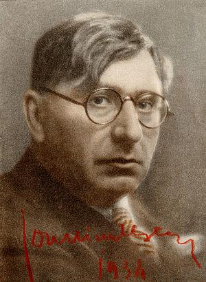 Ion Minulescu - Minulescu in 1934