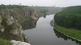 Ural (region) - Iset River near Kamensk-Uralsky.