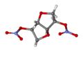 Isosorbide dinitrate ball-and-stick.png