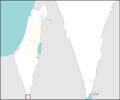 Israel outline southern negev mt.png
