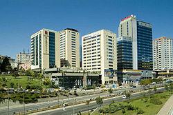 Okmeydanı'nda bir hastane