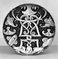 Italian - Dish on a Low Foot with an Ornamental Design - Walters 481354.jpg
