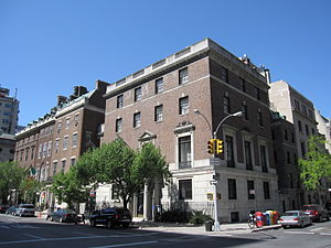 Henry P. Davison House - Henry P. Davison House on Park Avenue