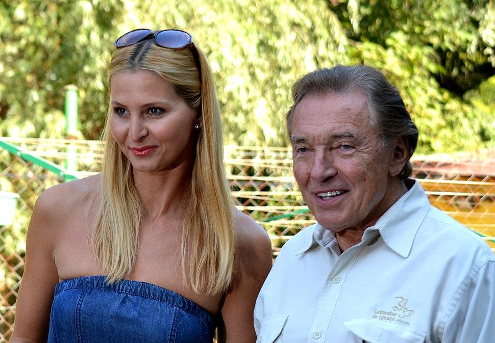 Ivana a Karel Gott