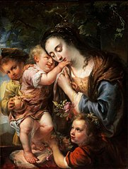 Mother with her Three Children (Maria Ovens, the Wife of the Painter)