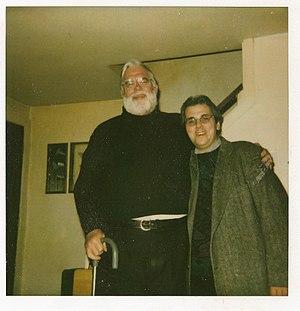 J. Quinn Brisben - J. Quinn Brisben (left) with a fellow Socialist Party activist Darren W. Lyle in 1992.
