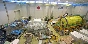 Tsukuba Space Center - Inside the Space Station Test Building (2005)