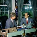 JFK Chep Morrison Oval Office 1961 Color.jpg