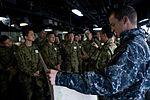 JGSDF visits USS Green Bay 160121-N-JH293-090.jpg