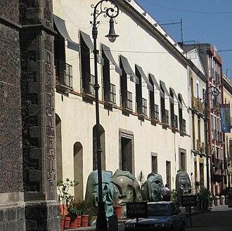 José Luis Cuevas Museum - Facade of the Jose Luis Cuevas Museum.