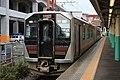 JR East GV-E402-5 Rapid agano Niigata Station 20201031.jpg