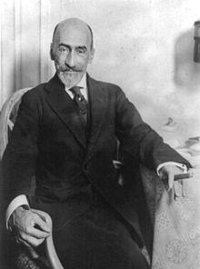 Ο Χαθίντο Μπεναβέντε το 1923