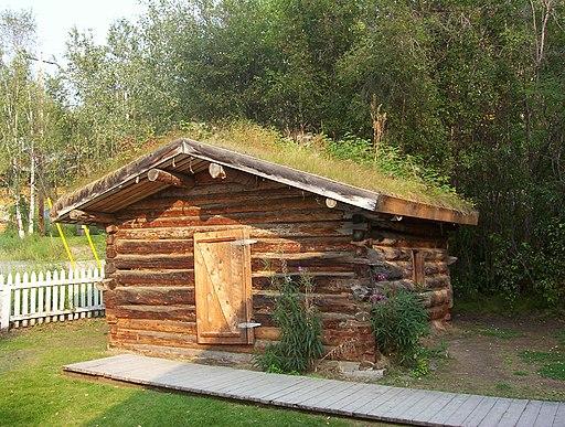 Jack London`s cabin