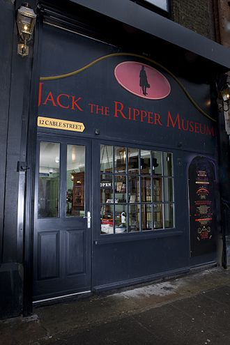 Jack the Ripper Museum - Image: Jack the Ripper Museum