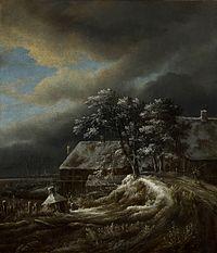 Jacob van Ruisdael - Winter Landscape Mauritshuis.jpg