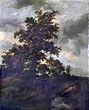 Jacob van Ruisdael - Wooded Landscape with a Hunt.jpg