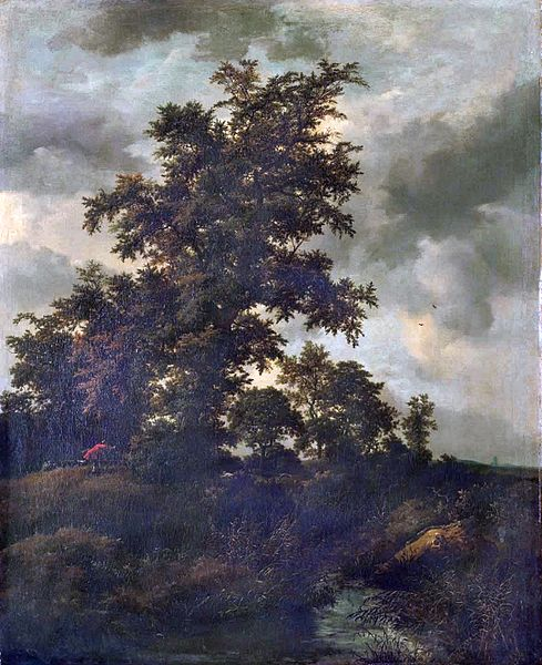 File:Jacob van Ruisdael - Wooded Landscape with a Hunt.jpg