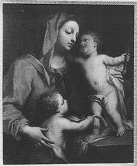 Maria mit dem Kinde und dem Johannisknaben