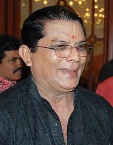Jagathy Sreekumar at AMMA meeting in 2008