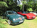 Jaguar S-Type and Chevrolet Corvette C6 convertible.jpg