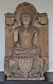 Jain Tirthankara Parsvanatha - 1014 CE - Kagarol - ACCN 40-2874 - Government Museum - Mathura 2013-02-22 4704.JPG