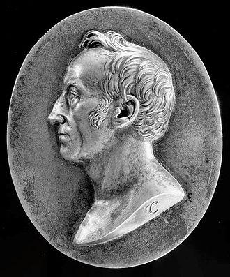 Pierre-Joseph Tiolier - Medallion of James Smithson (1817)