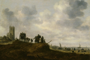 Jan van Goyen - The Old Church at Egmond aan Zee.png