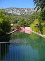 Jardin de Baudouvin Pond.JPG