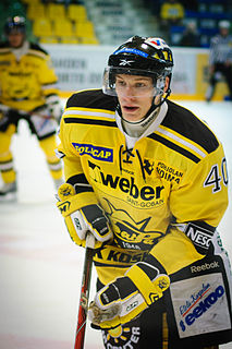 Jarno Koskiranta Finnish ice hockey player