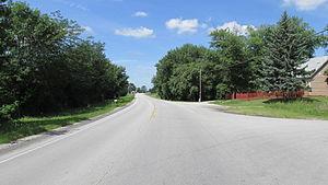 Jasper Township, Fayette County, Ohio - U.S. Route 22 in Jasper Mills