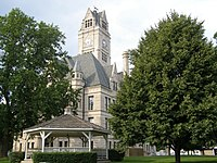 Jasper County Courthouse in Rensselaer